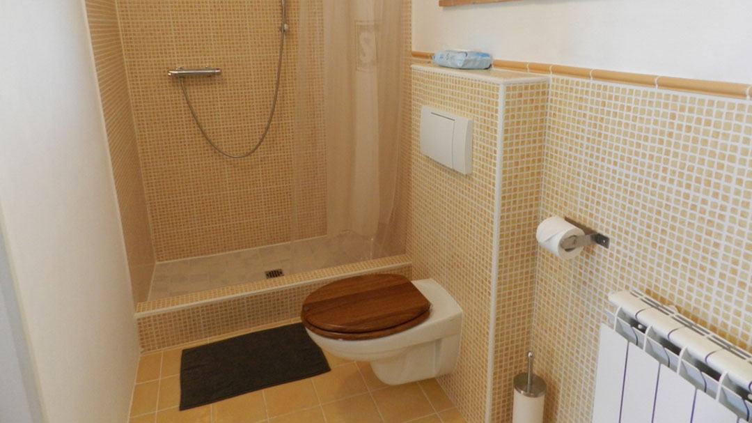 Badkamer appartement Sole