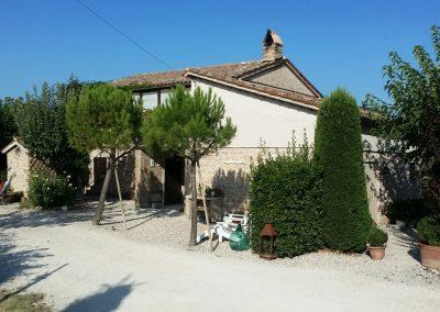 Contactloze vakantie in Le Marche Italie