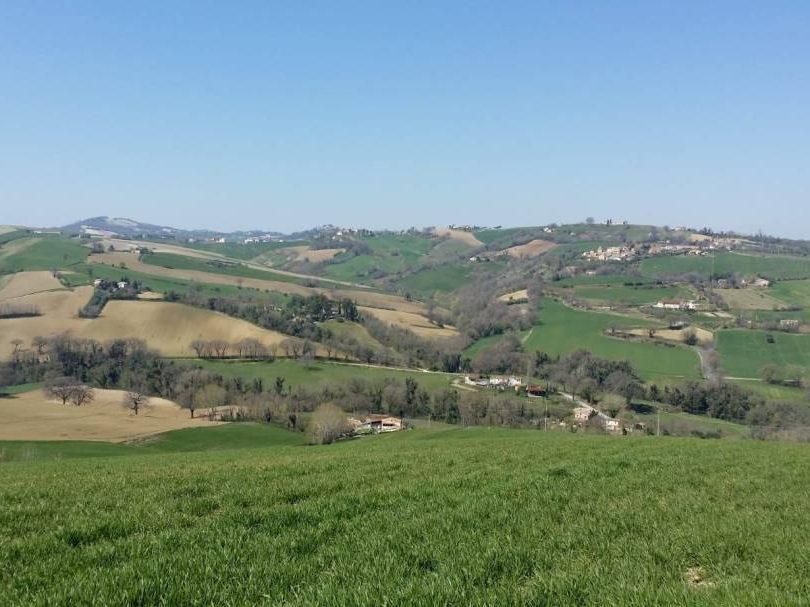uitzichtfoto Loretello di Arcevia