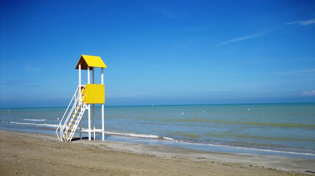 De Adriatische kust